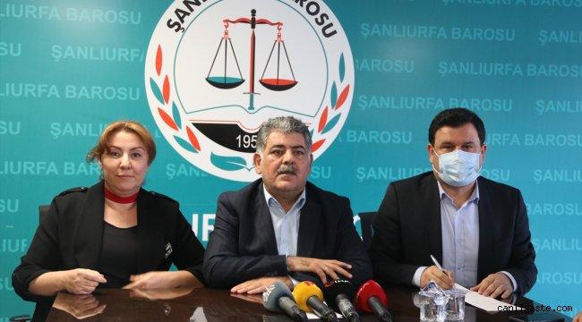 Şanlıurfa Baro Başkanı Öncel'in stajyer avukatı taciz ettiği iddiası
