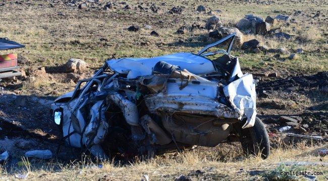 Şanlıurfa'daki feci kazada 2 kardeş öldü, anne ve baba yaralandı