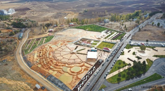 """""""Sivas'ın Pamukkale'si"""" Altınkale'nin açılışı yapıldı"""