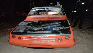 Sokağa çıkma kısıtlamasında otomobil yarışı için buluştukları öne sürülen 63 kişiye 198 bin lira ceza