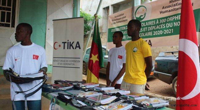 TİKA'dan Kamerunlu öğrencilere yeni eğitim öğretim yılında destek