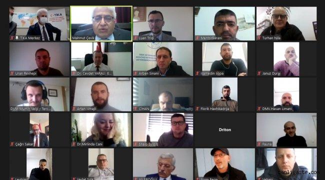 TİKA'dan Kosova'da veteriner hekimlere yönelik Tecrübe Paylaşım Programı