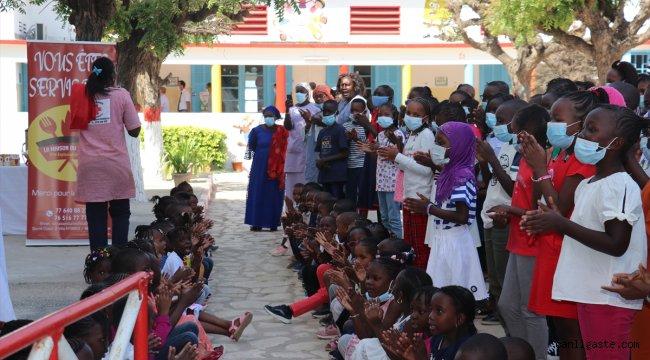 Türk Kızılay Senegal Delegasyonu, Dakar'da bir anaokulunu yeniledi