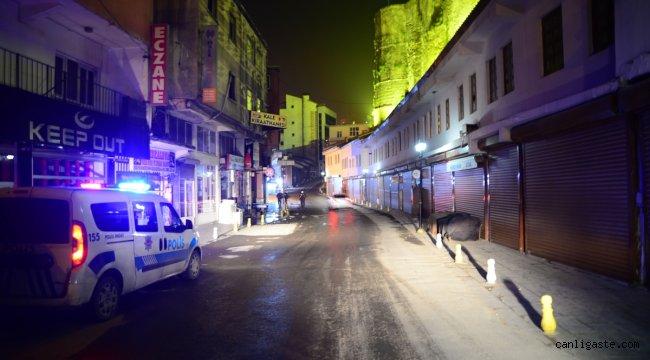 Van, Bitlis ve Muş sokağa çıkma kısıtlamasıyla sessizliğe büründü