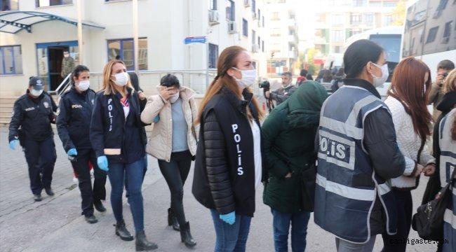 Yalova merkezli 5 ildeki fuhuş operasyonunda 9 kişi gözaltına alındı