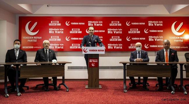Yeniden Refah Partisinin ikinci kuruluş yıl dönümü
