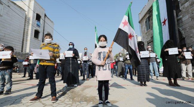 """Yerlerinden edilen Suriyelilerden """"Uluslararası Mülteciler Konferansı""""na tepki"""