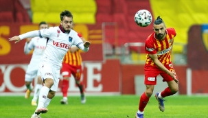 Süper Lig, Hes Kablo Kayserispor-Trabzonspor 0-0