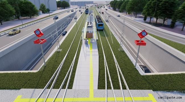 300 milyon TL'lik projeye 6 yeni tramvay aracı alınacak
