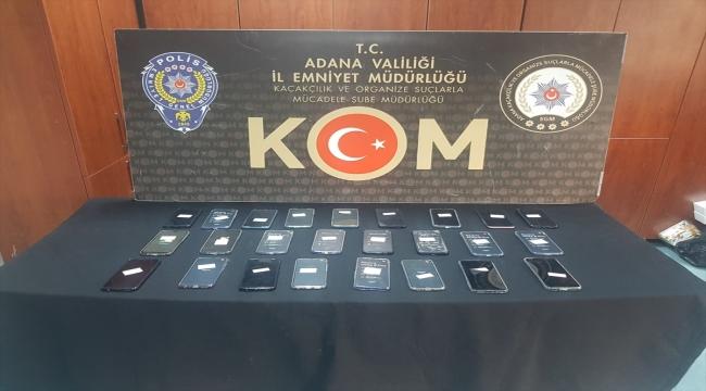 Adana'da kaçakçılık operasyonunda 3 şüpheli yakalandı