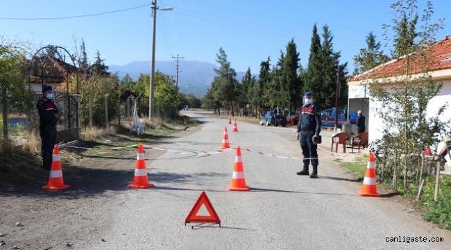 Adıyaman'da 32 ev karantinaya alındı