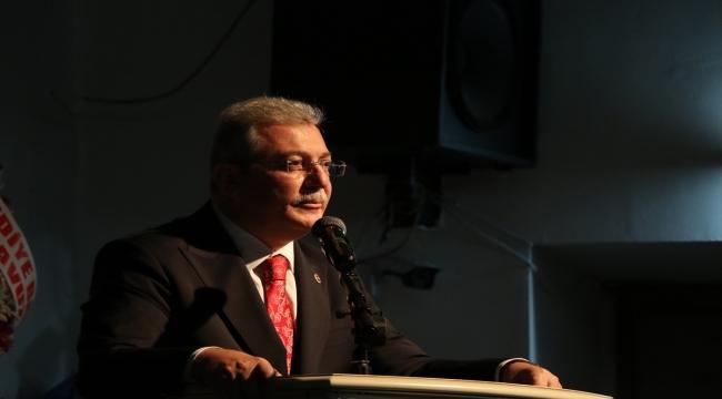 AK Partili Akbaşoğlu partisinin Çankırı Kadın Kolları Kongresi'nde konuştu: