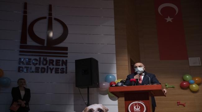 Ankara'da bodrum katta mahsur bırakılan köpeklerden 20'si sahiplendirildi