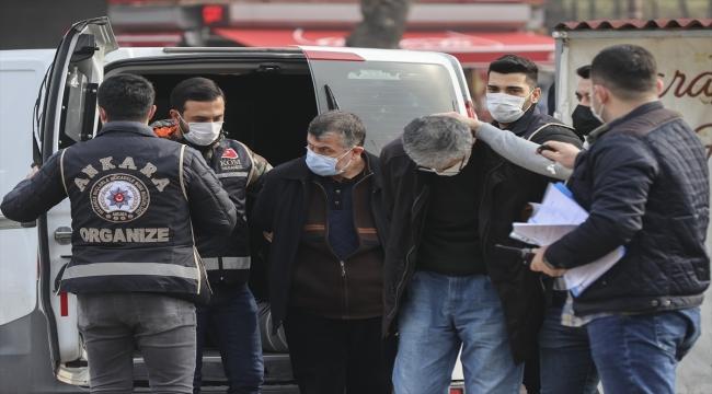 Ankara'da hücre evinde yakalanan FETÖ firarisi eski emniyet müdürleri tutuklandı