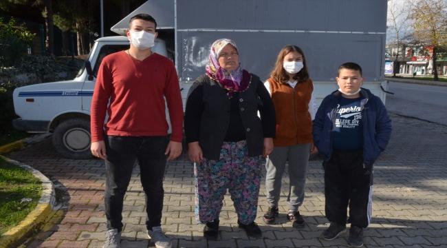 Antalya'da kasasında iki çocuğun olduğu kamyoneti kaçıran şüpheli yakalandı