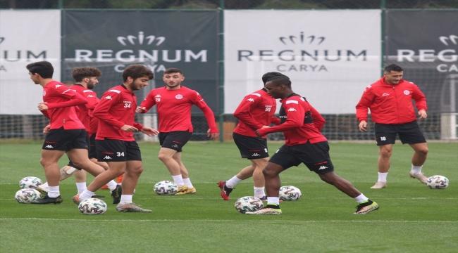 Antalyaspor kupa maçının hazırlıklarını tamamladı