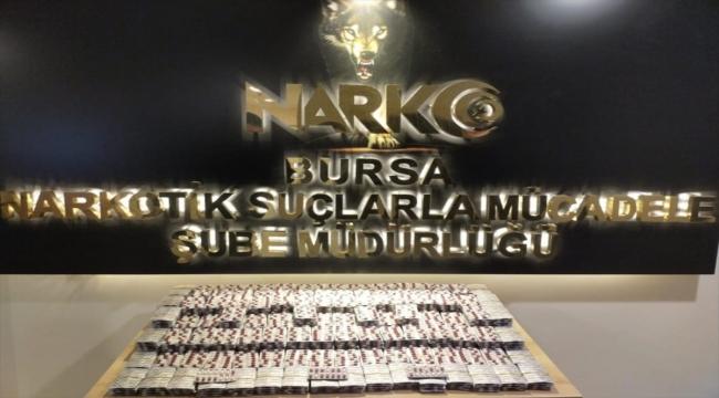Bursa'da uyuşturucu operasyonunda yakalanan 3 şüpheli tutuklandı