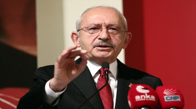 CHP Genel Başkanı Kılıçdaroğlu Parti Meclisi'nde konuştu