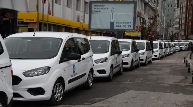 Çorum Belediyesi Devlet Malzeme Ofisi aracılığıyla 11 milyon liraya 59 hizmet aracı aldı