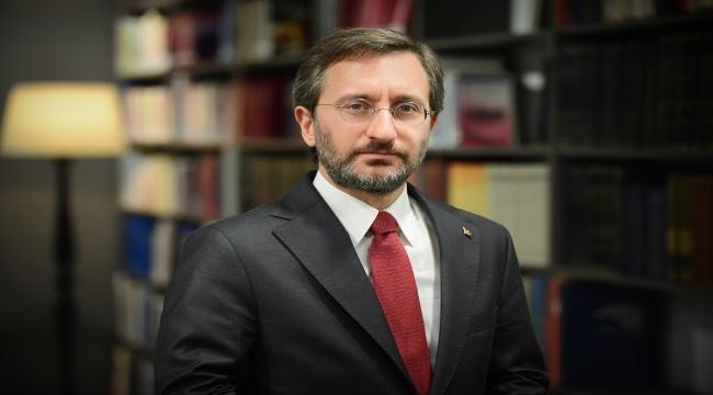 Cumhurbaşkanlığı İletişim Başkanı Altun'dan, 10 Ocak Çalışan Gazeteciler Günü mesajı