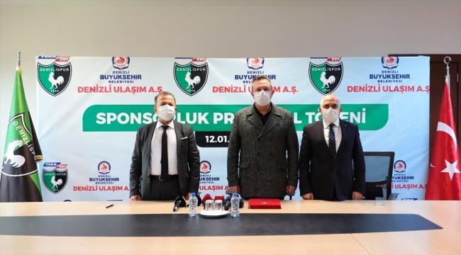 Denizlispor'a sponsor desteği