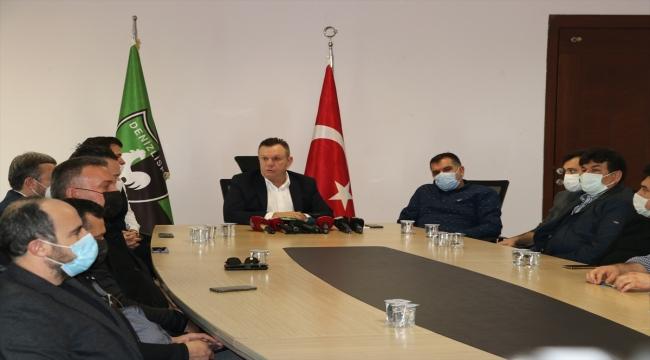 Denizlispor, yeni aday çıkana kadar mevcut yönetim ile devam edecek