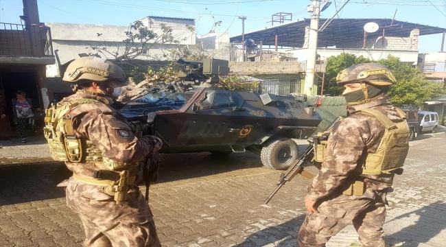 Hatay'da drone destekli uyuşturucu operasyonunda 4 şüpheli yakalandı