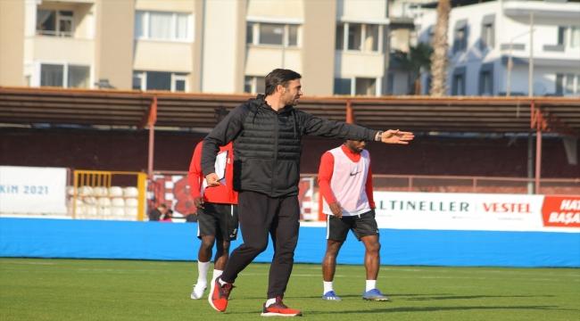 Hatayspor, Beşiktaş maçı hazırlıklarına başladı
