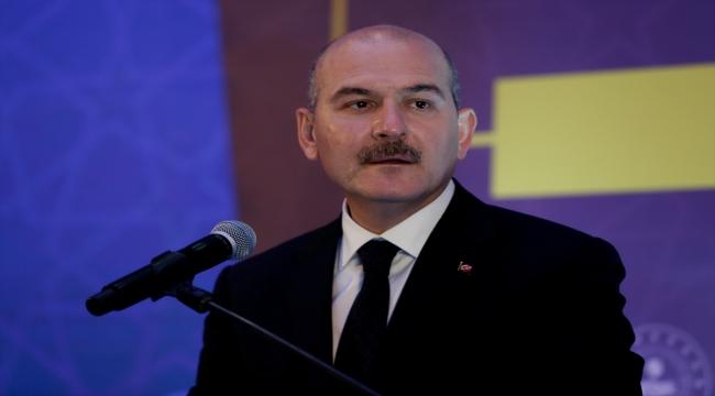 İçişleri Bakanı Soylu, İzmir Afet Risk Azaltma Planı toplantısına katıldı