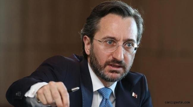 İletişim Başkanı Altun'dan Kılıçdaroğlu'nun 'sözde cumhurbaşkanı' ifadesine tepki