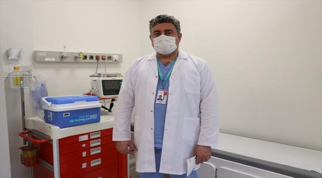İstanbul'da Kovid-19 aşı odaları için hazırlıklar tamamlandı