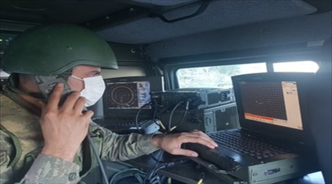 İzmir'deki 57'nci tugayda hava savunma eğitimleri düzenlendi