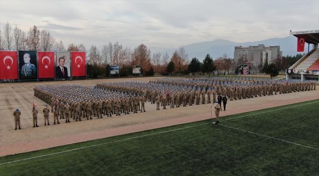 Karabük'te uzman erbaşlar asayiş kursunu tamamladı