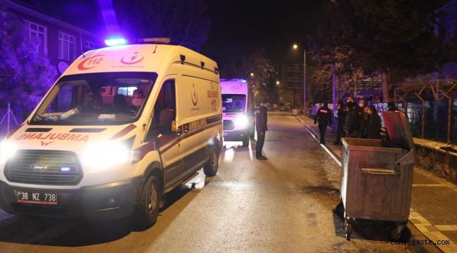 Kayseri'de enişteleri tarafından bıçaklandıkları iddia edilen 2 kardeş ağır yaralandı