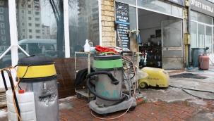 Kayseri Olay: Halı yıkama hizmeti veren iş yeri kurşunlandı