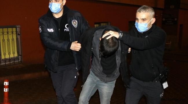 Kayseri Olay: Kayseri'de akaryakıt istasyonundan hırsızlık