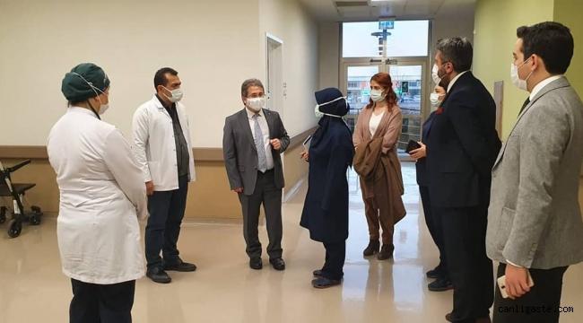 """Kayseri Şehir Hastanesinde """"Aşı Uygulama Merkezi"""" oluşturuldu"""