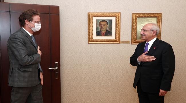 Kılıçdaroğlu, AB Türkiye Delegasyonu Başkanı Nikolaus Meyer-Landrut'u kabul etti