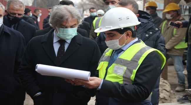 Kültür ve Turizm Bakan Yardımcısı Demircan, Diyarbakır'da incelemelerde bulundu: