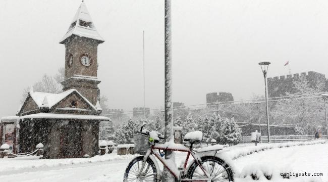 Meteoroloji'den Kayseri için kuvvetli yağmur ve kar uyarısı