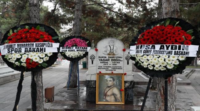 Milli güreşçi Yaşar Doğu, vefatının 60. yılında anıldı