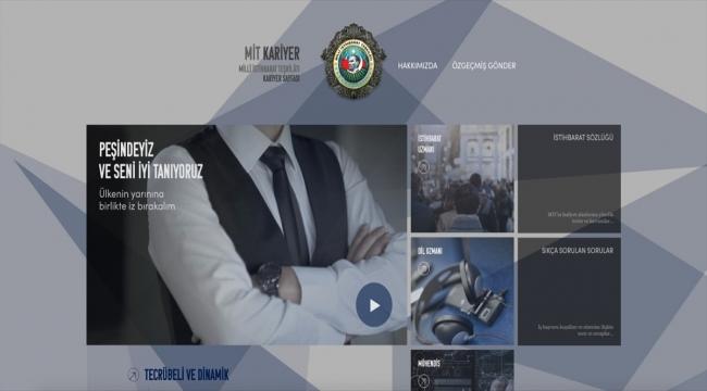 MİT'in kariyer sayfası yenilendi
