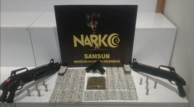 Samsun'daki uyuşturucu operasyonunda gözaltına alınan 10 şüpheliden biri tutuklandı