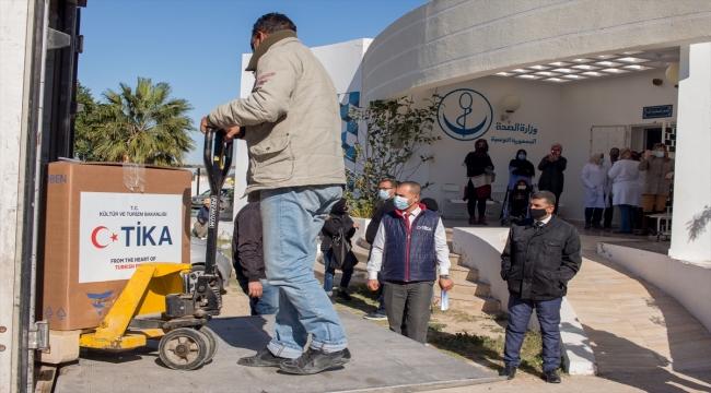 TİKA, Tunus'taki bir hastaneye mobil hemodiyaliz ünitesi hibe etti