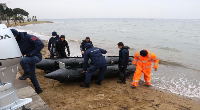 Yalova'da sandalla açıldığı denizde kaybolan kişiyi arama çalışmaları sonlandırıldı