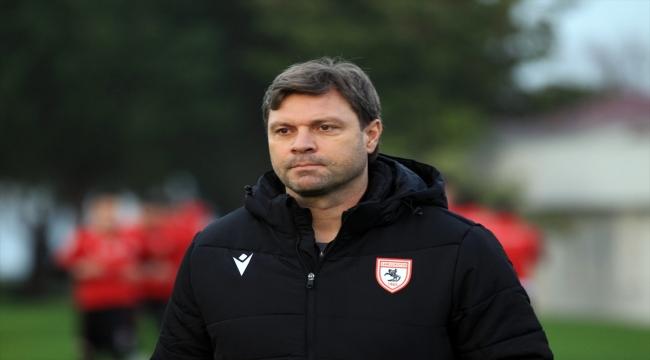 """Yılport Samsunspor Teknik Direktörü Sağlam'dan """"birlik"""" çağrısı:"""
