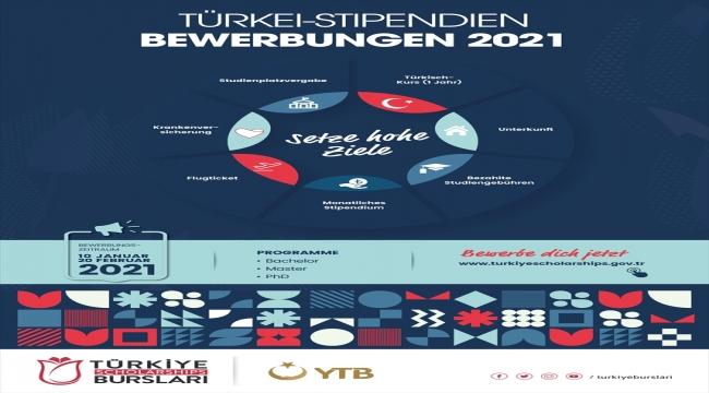 """YTB'nin """"2021 Türkiye Bursları""""na başvurular yarın başlıyor"""