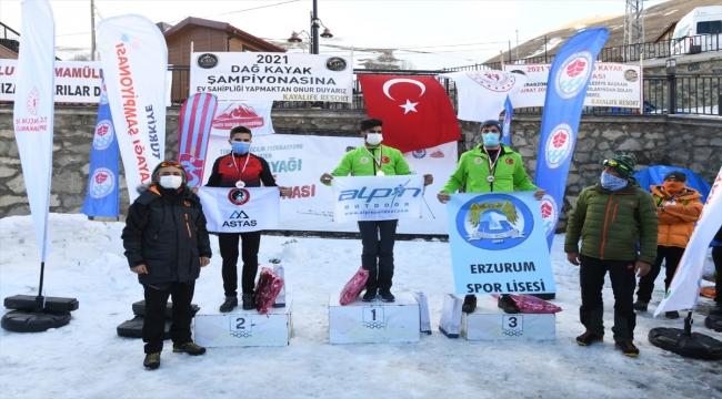 2021 Dağ Kayağı Türkiye Şampiyonası Trabzon'da sona erdi