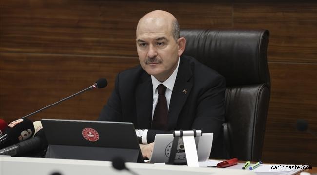 """Bakan Soylu: """"Murat Karayılan'ı yakalayıp bin parçaya bölmezsek bu millet ve şehitlerimiz yüzümüze tükürsün"""""""