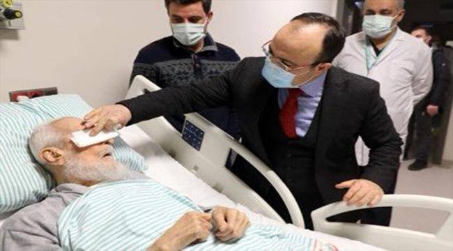Elazığlı kanaat önderi Hafız Abdullah Nazırlı, 107 yaşında hayatını kaybetti